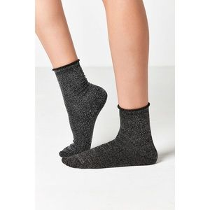 Accessories - Urban Outfitters Sparkle Ankle Socks
